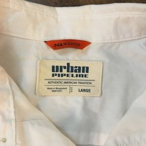 urban pipeline Shirts & Tops - Boys Urban Pipeline Button Down Shirt